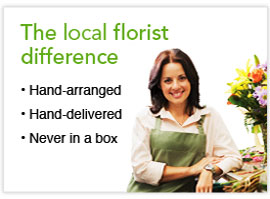 The local florist difference
